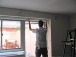 Installing the window shades